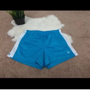 Justice Girl Sport Shorts Blue Sz 6